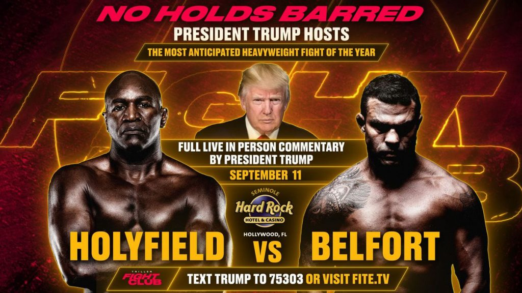 Evander Holyfield vs Vitor Belfort full card