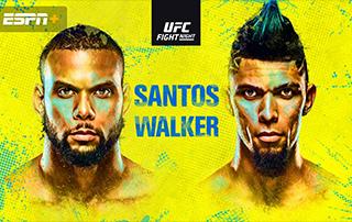 Santos vs Walker ufc fight night