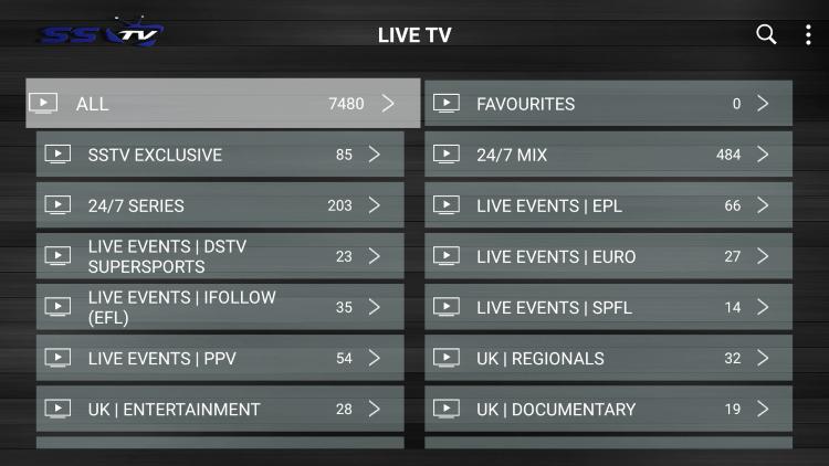 sstv iptv channels
