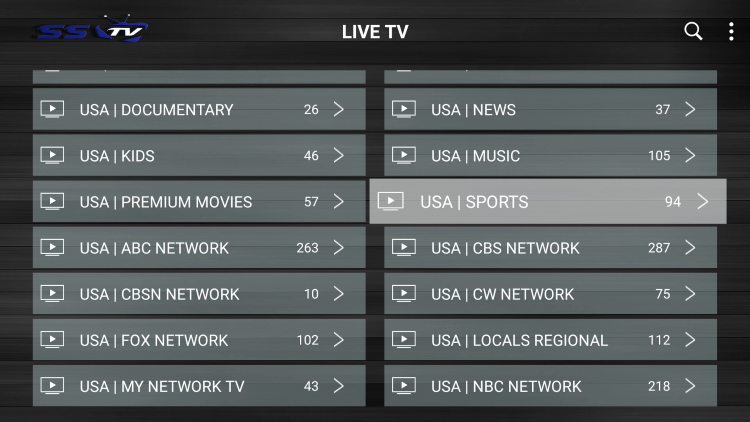 There are also options for PPV, sports packages, VOD, adult channels, and other exclusive offerings not included in some live TV services.