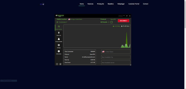 and anonymity when using IPTV services like this.