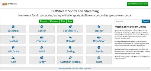 buffstream website
