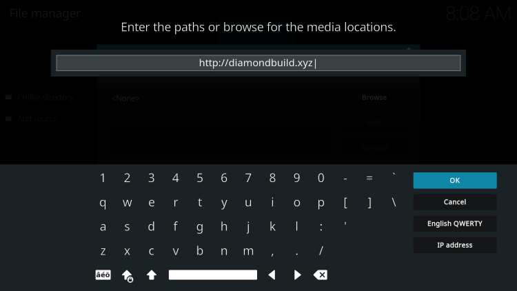 This is the official source of diamond kodi build