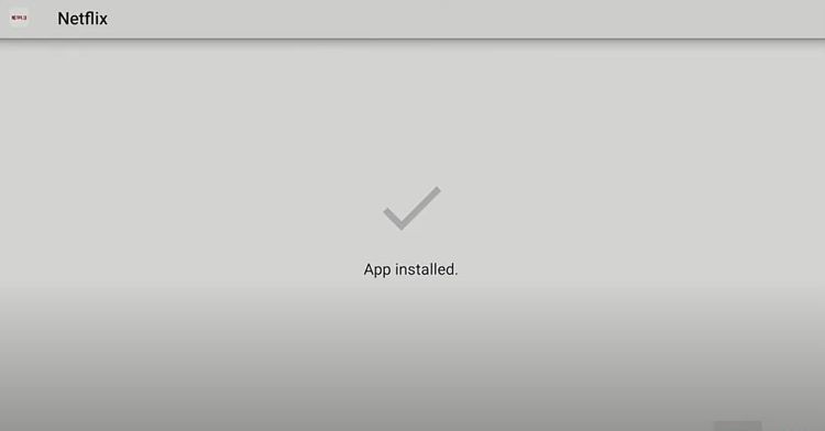 Return back to X-Plore File Manager and install Netflix.