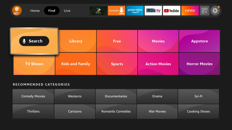 This guide will show you how to install LocalBTV on an Amazon Firestick 4K.