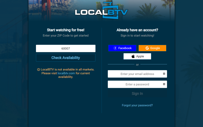Enter your zip code again and click Check Availability.