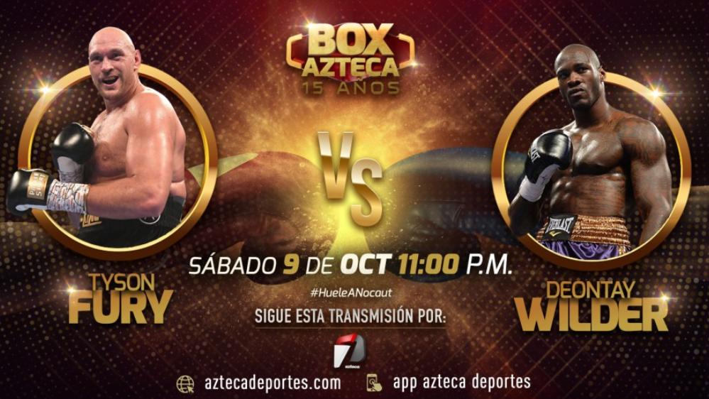 stream fury vs wilder 3 azteca