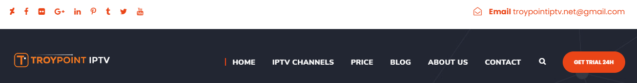 TROYPOINT IPTV Header
